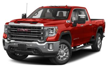 2021 GMC Sierra 3500HD - Cardinal Red