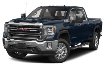 2020 GMC Sierra 3500HD - Pacific Blue Metallic