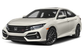 2020 Honda Civic Si - Platinum White Pearl