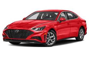 2020 Hyundai Sonata - Flame Red