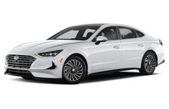 2021 Hyundai Sonata Hybrid - Hyper White
