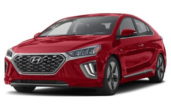 2020 Hyundai Ioniq Hybrid - Fiery Red