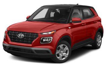 2020 Hyundai Venue - Fiery Red w/Black Roof