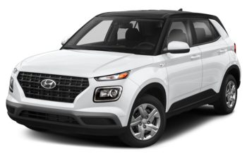 2020 Hyundai Venue - Polar White w/Black Roof