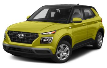 2020 Hyundai Venue - Acid Yellow w/Black Roof
