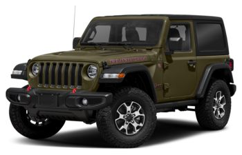 2021 Jeep Wrangler - Sarge Green