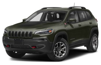 2020 Jeep Cherokee - Olive Green Pearl