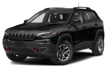 2021 Jeep Cherokee - Diamond Black Crystal Pearl