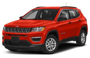2021 Jeep Compass - Spitfire Orange