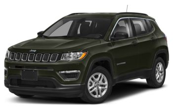 2021 Jeep Compass - Olive Green Pearl