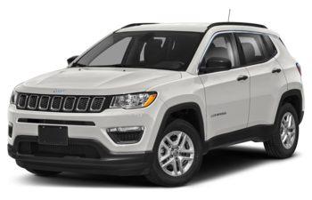 2021 Jeep Compass - Pearl White Tri-Coat