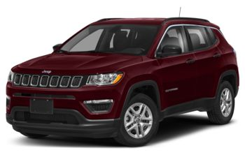2020 Jeep Compass - Velvet Red Pearl