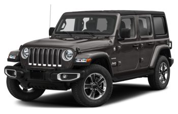 2021 Jeep Wrangler Unlimited - Granite Crystal Metallic