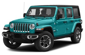 2020 Jeep Wrangler Unlimited - Bikini Pearl