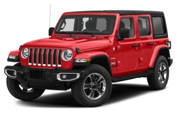 2021 Jeep Wrangler Unlimited - Firecracker Red