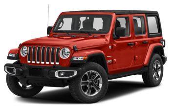 2021 Jeep Wrangler Unlimited - Firecracker Red