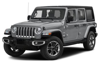 2021 Jeep Wrangler Unlimited - Billet Silver Metallic