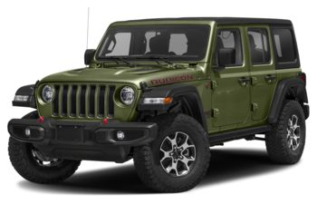 2021 Jeep Wrangler Unlimited - Sarge Green