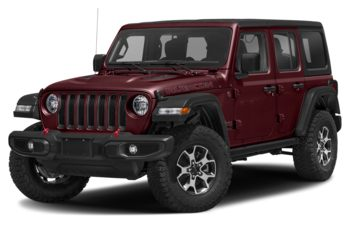 2021 Jeep Wrangler Unlimited - Snazzberry Pearl