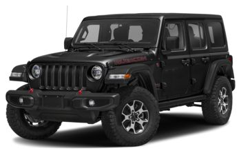 2021 Jeep Wrangler Unlimited - Black