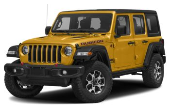 2021 Jeep Wrangler Unlimited - Hellayella