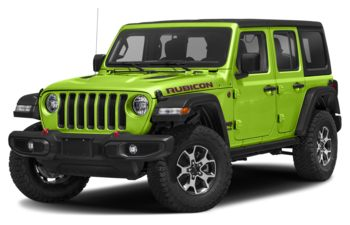 2021 Jeep Wrangler Unlimited - Gecko Pearl