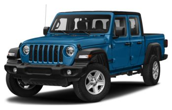 2021 Jeep Gladiator - Hydro Blue Pearl