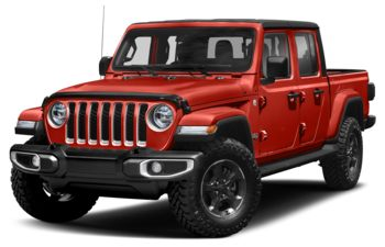 2020 Jeep Gladiator - Firecracker Red