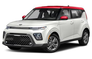 2020 Kia Soul - Clear White Body/Inferno Red Roof