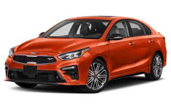 2021 Kia Forte - Orange Delight