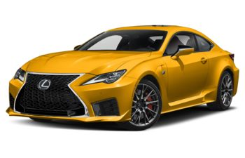 2020 Lexus RC F - Flare Yellow