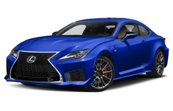 2021 Lexus RC F - Ultrasonic Blue Mica 2.0
