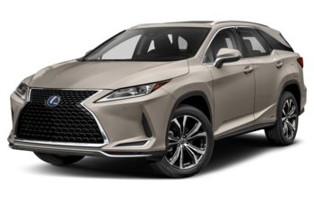 2021 Lexus RX 450hL - Moonbeam Beige Metallic