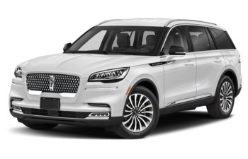 2020 Lincoln Aviator - Pristine White Metallic Tri-Coat