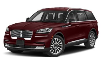 2020 Lincoln Aviator - Burgundy Velvet Metallic Tinted Clearcoat
