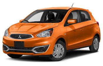 2020 Mitsubishi Mirage - Sunrise Orange