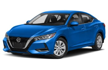 2021 Nissan Sentra - Electric Blue Metallic