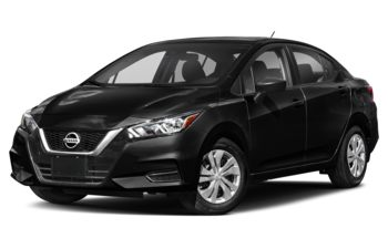 2021 Nissan Versa - Super Black