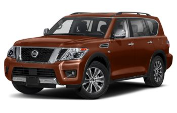2020 Nissan Armada - Forged Copper Metallic