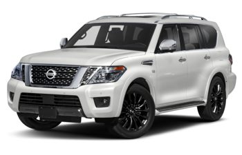 2020 Nissan Armada - Pearl White