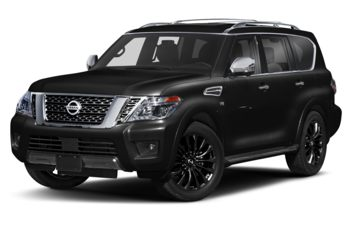 2020 Nissan Armada - Super Black