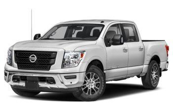 2021 Nissan Titan - Glacier White