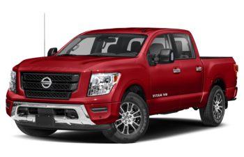 2021 Nissan Titan - Red Alert