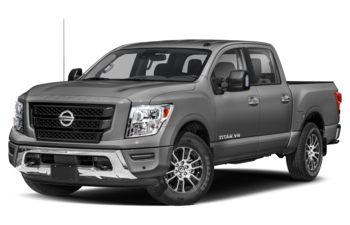 2021 Nissan Titan - Gun Metallic