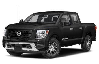 2020 Nissan Titan - Super Black