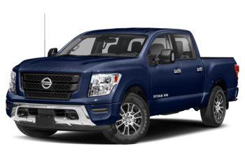 2021 Nissan Titan - Deep Blue Pearl