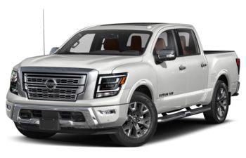 2020 Nissan Titan - Pearl White