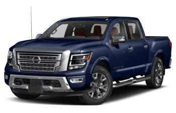 2020 Nissan Titan - Deep Blue Pearl
