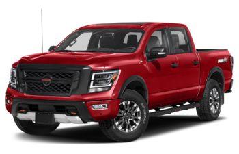 2020 Nissan Titan - Red Alert