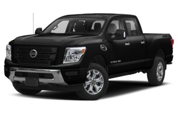 2021 Nissan Titan XD - Super Black
